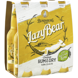 Photo of Bundaberg Lazy Bear Rum & Dry Stubbies
