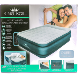 Photo of King Koil Double High Queen Airbed