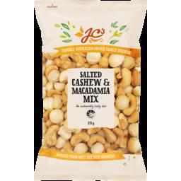 Photo of JC's Cashew & Macadamia Mix 375g