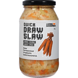 Photo of Living Goodness Quick Draw Slaw 500g