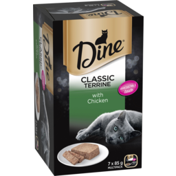 Photo of Dine Gourmet Cat Food With Country Chicken 7x85g