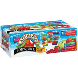 Photo of Apple Eve Juice Box Variety