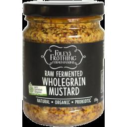 Photo of Foley's Mustard – Wholegrain (raw fermented)