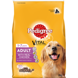 Photo of Pedigree Dog Food Dry Adult With Real Chicken 8kg