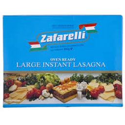 Photo of Zafarelli Large Instant Lasagne 200g