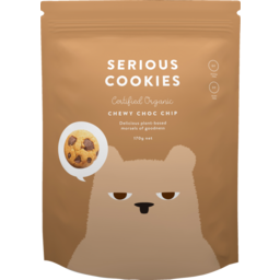 Photo of Serious Cookies Chewy Choc Chip 170g