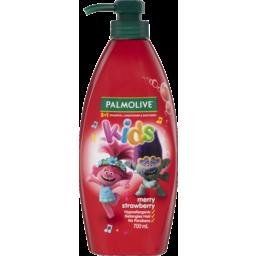 Photo of Palmolive Kids 3 In 1 Hypoallergenic Hair Shampoo, Conditioner & Body Wash Trolls Merry Strawberry 700ml