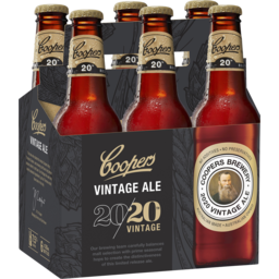 Photo of Coopers Vintage Ale 6 x 330ml Pack