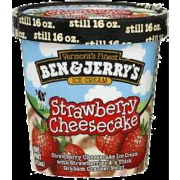 Photo of Ben & Jerrys Strawberry Cheesecake 458ml