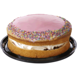 Photo of Mr Donut Strawberry Iced Sponge
