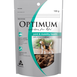 Photo of Optimum Nutrition For Life Joint & Mobility Health With Chicken & Salmon Dog Treat 100g