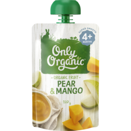 Photo of Only Organic Pear & Mango 120g