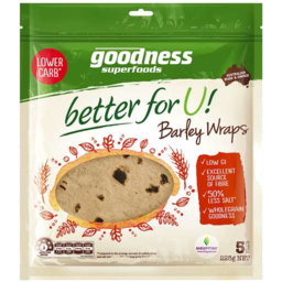 Photo of Goodness Barley Whole Grain Wrap 225g