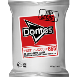 Photo of Doritos Mystery Test Flavour 855 Corn Chips 150g