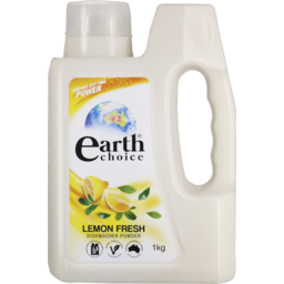 Photo of Earth Choice Dishwasher Powder Lemon Fresh 1kg