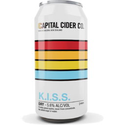 Photo of Captial Cider Co. K.I.S.S 440ml