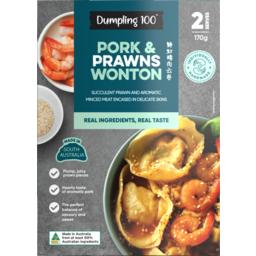 Photo of Dumpling 100 Pork & Prawn Wonton 170g