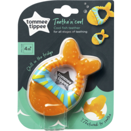 Photo of Closer To Nature Teether Cool Fish