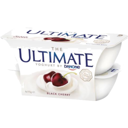 Photo of Danone Ult Black Cherry 115gm 4pk