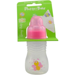 Photo of Pretty Baby Bottle Printed Handle 125ml