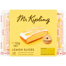 Photo of Mr Kipling Lemon Slice 6 Pack