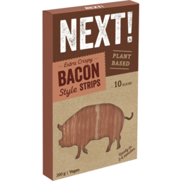 Photo of Next Plant Based Bacon Style Strips 200g