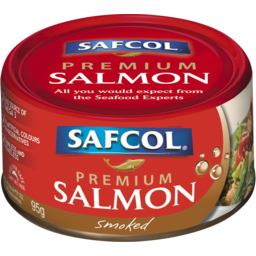Photo of Safcol Premium Salmon Smoked 95g