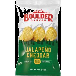 Photo of Boulder Canyon Chips - Potato (Jalapeno Cheddar)
