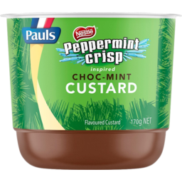 Photo of Pauls Nestle Peppermint Crisp Inspired Choc Mint Custard 170g