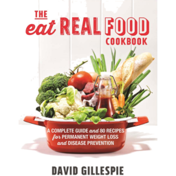Photo of Gillespie. David Book - The Eat Real Food Cook Book