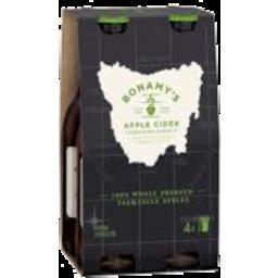 Photo of Bonamys Cider Apple 4*330ml