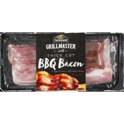 Photo of Farmland Grillmaster BBQ Bacon Thick Cut With BBQ Glaze 300g