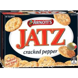 Photo of Jatz Cracked Pepper 225gm