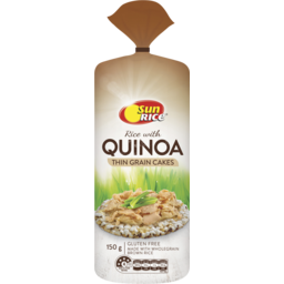 Photo of SunRice Quinoa Rice Cakes 150gm