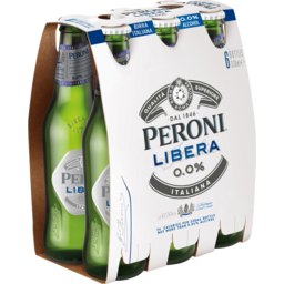Photo of Peroni Libera 6 x 330ml Bottles
