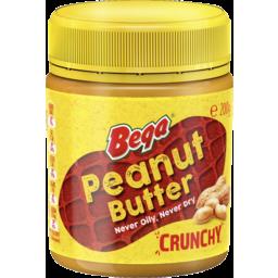 Photo of Bega Peanut Butter Crunchy 200g