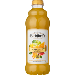 Photo of Bickfords Immunity Support Blended Citrus Fruits & Apple Juice 1l