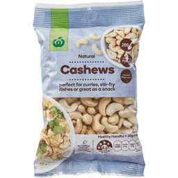 Photo of WW Natural Cashews 200g