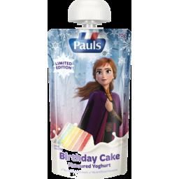 Photo of Pauls Limited Edition Birthday Cake Flavoured Yoghurt 70g