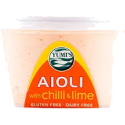 Photo of Yumi's Aioli Chilli & Lime 200gm