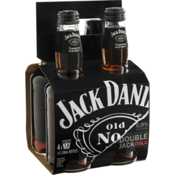 Photo of Jack Daniel's Double Jack & Cola Stubbies