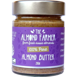 Photo of The Almond Farmer Gluten Free 100% Pure Almond Butter 250g