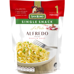Photo of San Remo La Pasta Alfredo Pasta & Sauce 80g