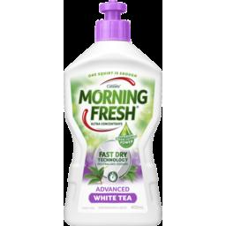 Photo of Morning Fresh Dishwashing Liquid Advanced Fast Dry White Tea 400ml