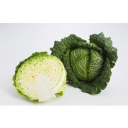 Photo of Cabbage Savoy Half