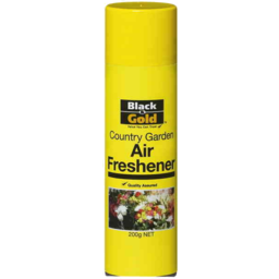 Photo of Black And Gold Air Freshener Country Garden 200gm