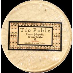 Photo of Tio Pablo Green Jalapeno Corn Tortillas 12 pack