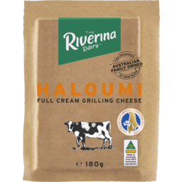 Photo of Riverina Dairy Haloumi Full Cream Grilling Cheese 180g
