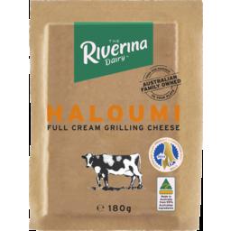 Photo of Riverina Dairy Haloumi Full Cream Grilling Cheese 180g