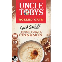 Photo of Uncle Toby's Oat Quick Cinnamon 10pk